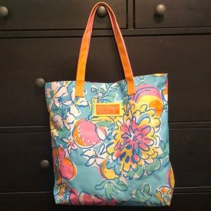Lilly Pulitzer travel/tote bag